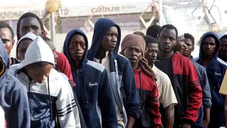 أكثر من 7 آلاف مهاجر غير شرعي موقوفون بمراكز احتجاز في ليبيا