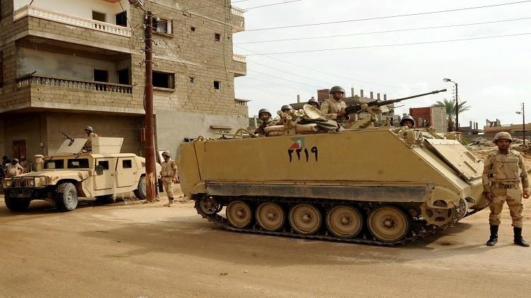 الجيش المصري يدمر كمية هائلة من المتفجرات في رفح