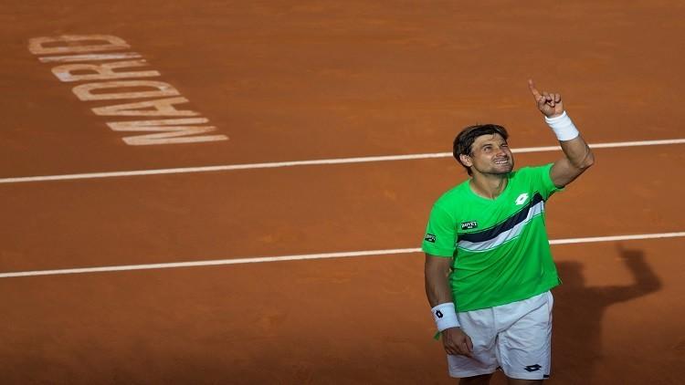 فيرير يتقدم في بطولة مدريد المفتوحة بعد انسحاب تسونغا