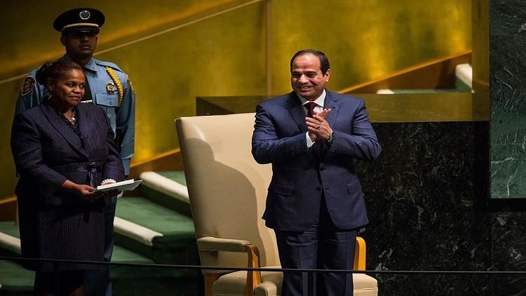 السيسي يدشن مشروع غاز يغطي ربع احتياجات مصر