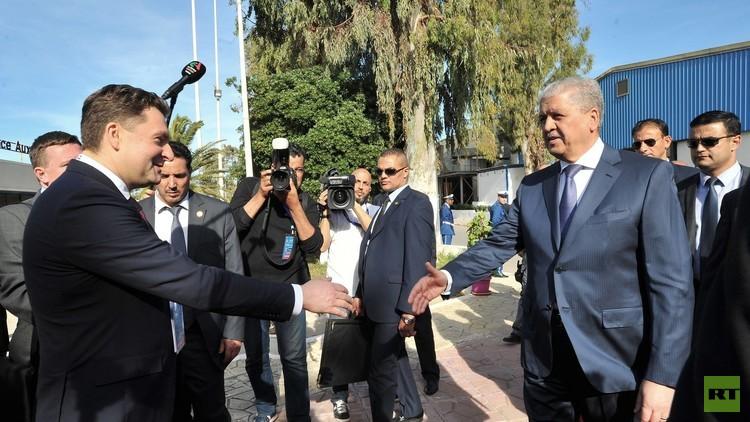 شركات روسية صناعية تشارك في معرض الجزائر الدولي