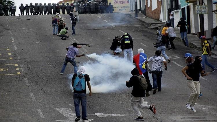 ارتفاع حصيلة قتلى المظاهرات في فنزويلا إلى 39