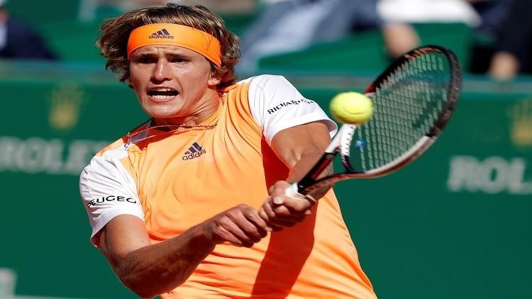 زفيريف وبيير إلى ثالث أدوار بطولة مدريد المفتوحة