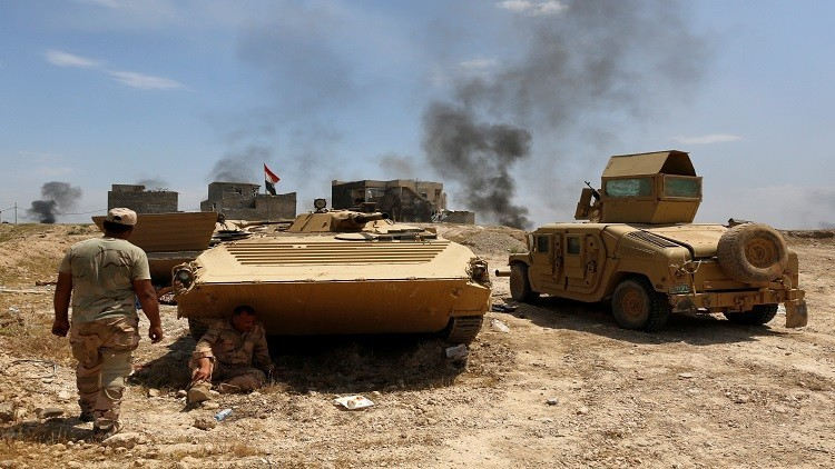 القوات العراقية تتقدم في حي الاقتصاديين شمال الموصل