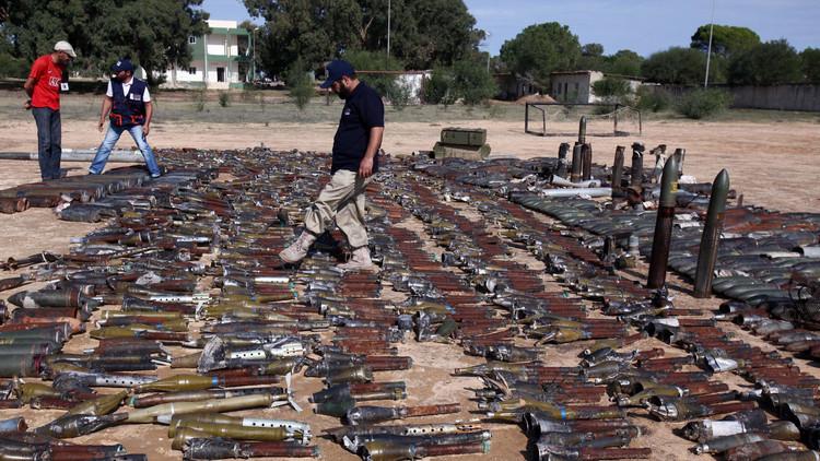 تجارة السلاح في ليبيا