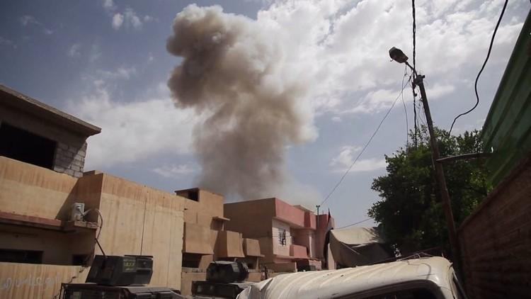 اشتباكات على أطراف حي اليرموك في الموصل