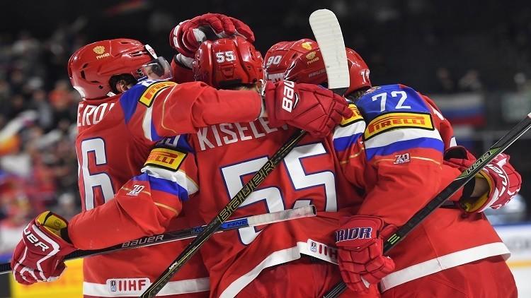 روسيا تواصل انتصاراتها في مونديال الهوكي