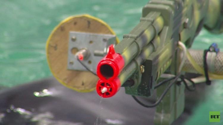 شاهد بالفيديو مشاركة الفقم تدريبات العناصر الخاصة في البحرية الروسية