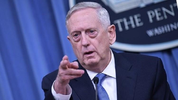 ماتيس: واشنطن وأنقرة ستتجاوزان الخلاف حول تسليح الأكراد