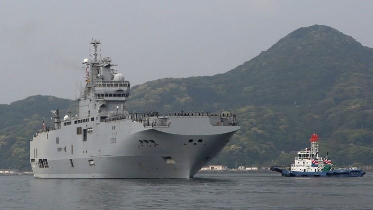 تأجيل مناورات دولية في المحيط الهادئ بسبب جنوح سفينة فرنسية