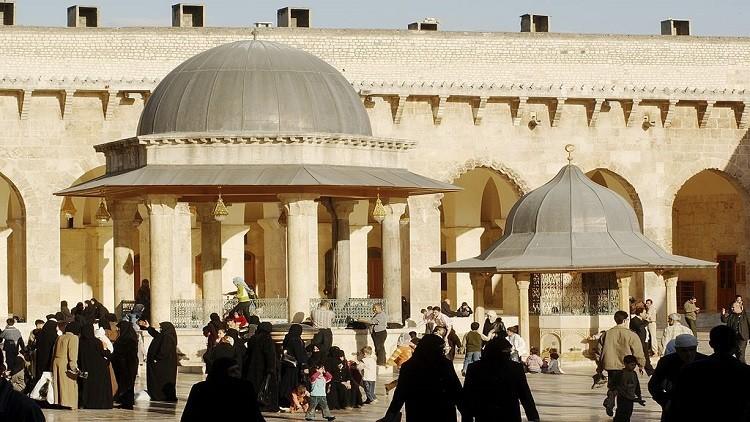 دمشق ترصد ملايين الدولارات لترميم الجامع الأموي الكبير في حلب