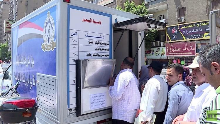 ارتفاع معدلات التضخم في مصر