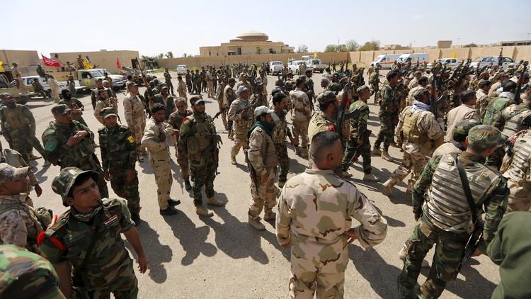 الحشد الشعبي يطلق عملية تحرير القيروان على الحدود السورية