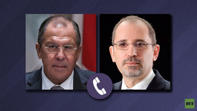 لافروف والصفدي يبحثان توسيع نطاق الهدنة السورية للحدود الأردنية