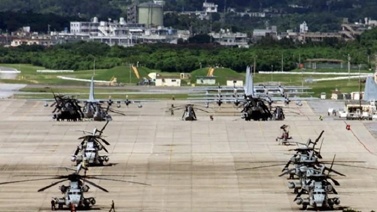 يابانيون يتظاهرون ضد بناء قاعدة أمريكية جديدة