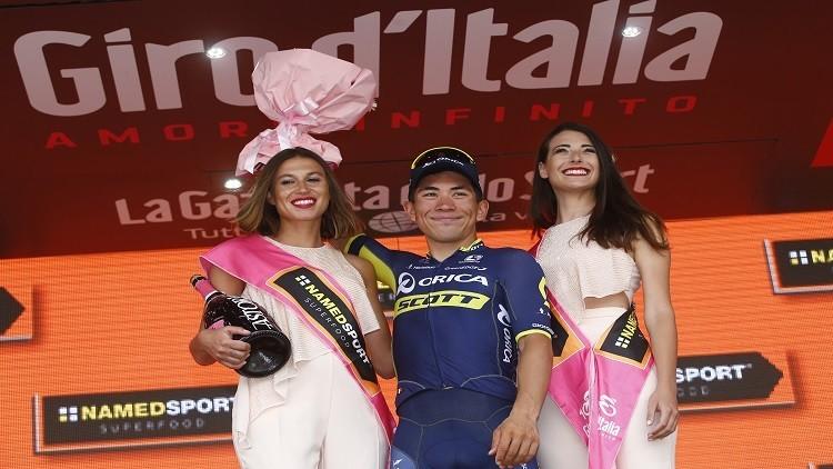 إيوان يفوز بالمرحلة السابعة من سباق إيطاليا للدراجات