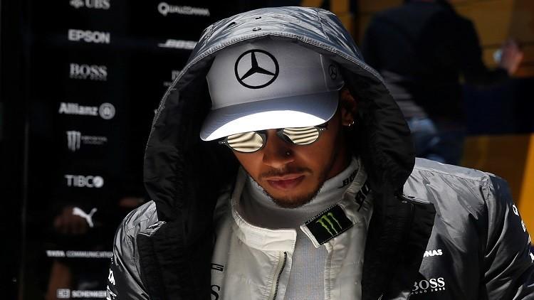 هاميلتون أول المنطلقين في جائزة إسبانيا للفورمولا1