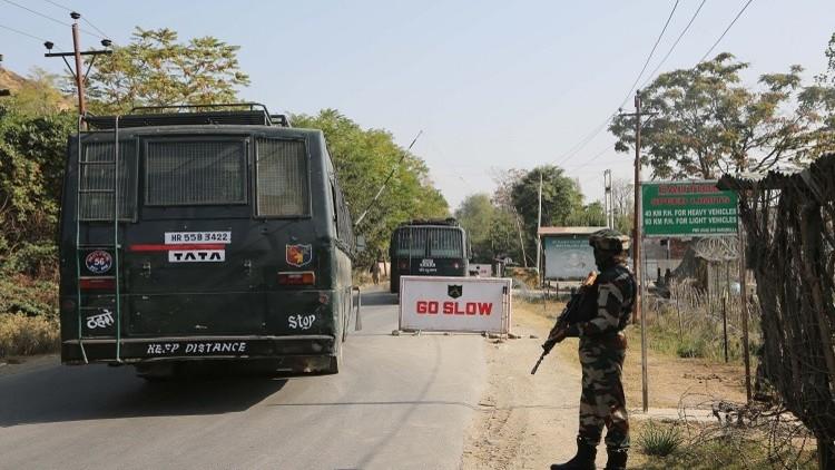 مقتل شخصين في إطلاق نار عبر حدود كشمير