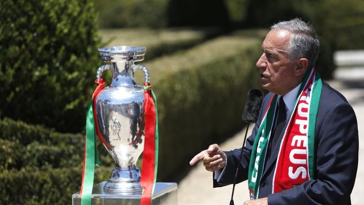 رئيس البرتغال سيحضر كأس القارات في روسيا لمساندة برازليي أوروبا