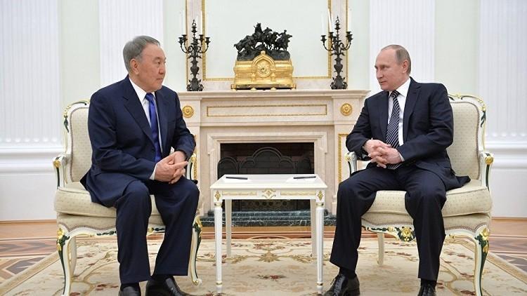 بوتين يبحث الأزمة السورية مع أردوغان ونزاربايف