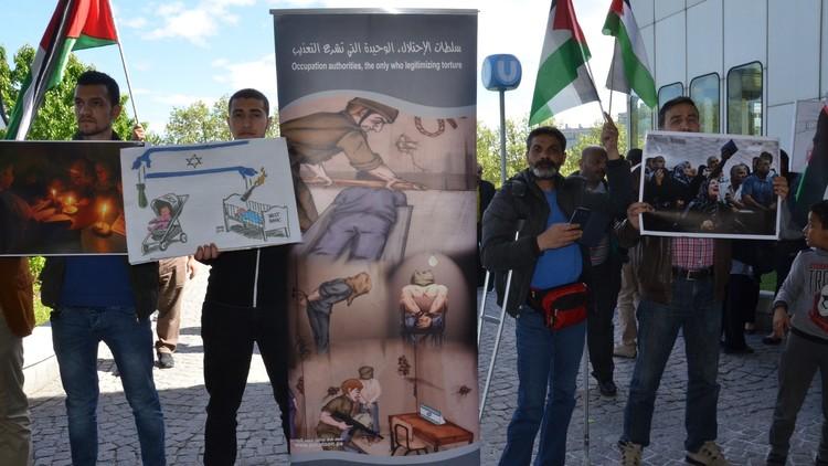 إغماءات بين الأسرى الفلسطينيين المضربين في سجن نفحة