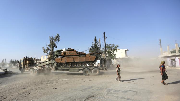 قاعدة عسكرية تركية داخل سوريا