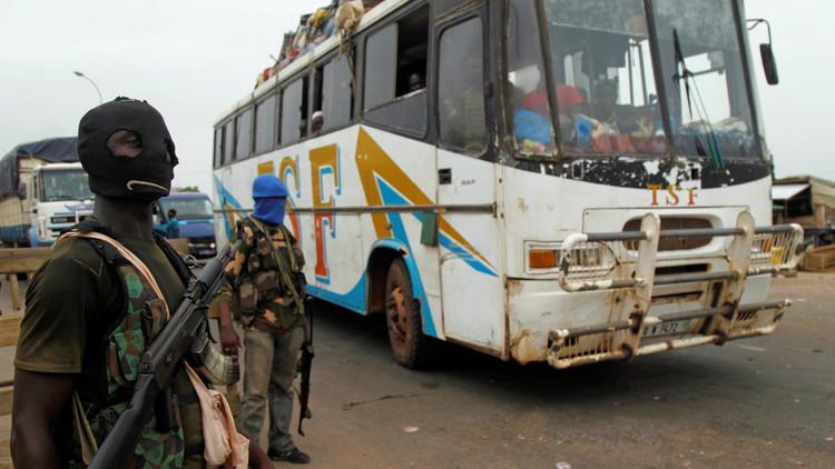 استمرار التمرد في مدن ساحل العاج