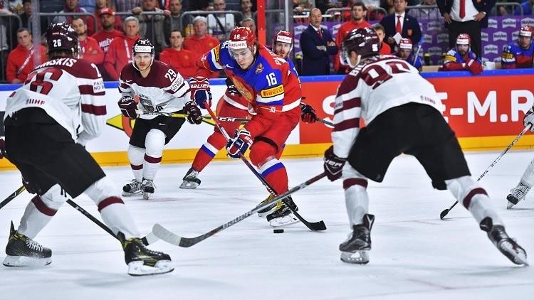 روسيا تواصل سلسلة انتصاراتها في مونديال الهوكي