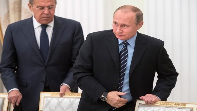 بوتين انتقد مازحا لافروف على موضوع الأسرار الأمريكية
