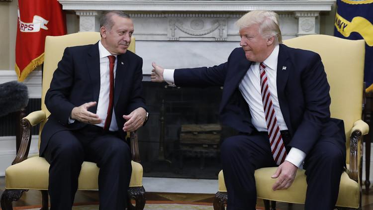 اردوغان لم يحصل على دعم حاسم من ترامب !