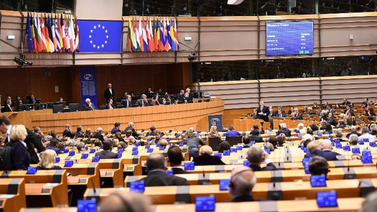 البرلمان الأوروبي يدعو إيران وروسيا للضغط على دمشق