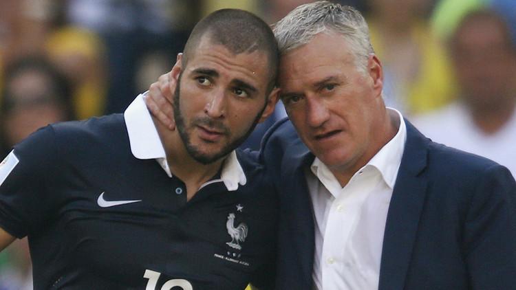 مدرب فرنسا يقبل تحدي بنزيما!
