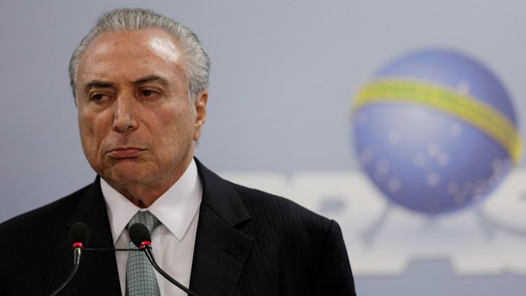رئيس البرازيل  يرفض الاستقالة على خلفية اتهامه بالفساد