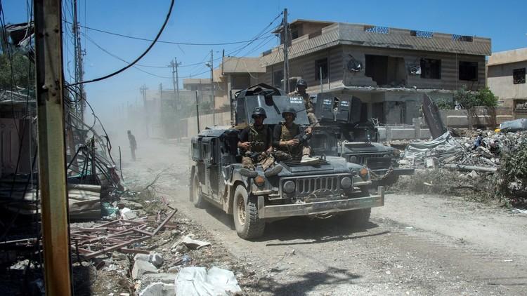 استعادة حي الورشان في الجانب الغربي من الموصل