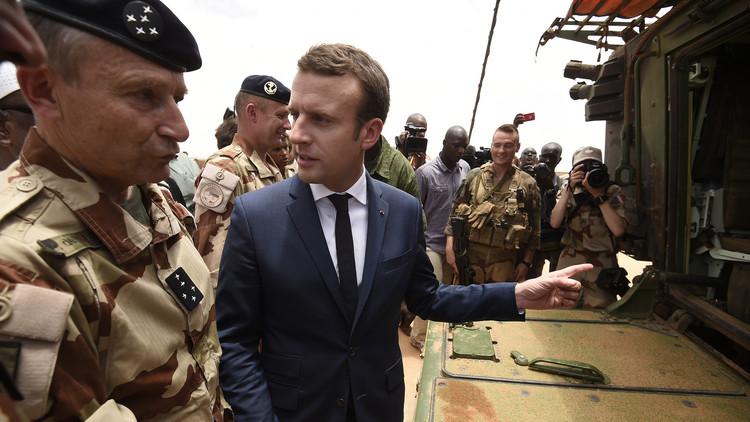 ماكرون في مالي لتأكيد دور باريس في محاربة الإرهاب بغرب إفريقيا