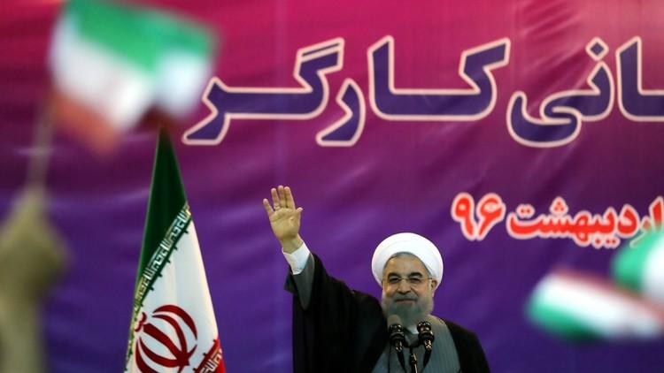 روحاني يفوز بولاية رئاسية ثانية