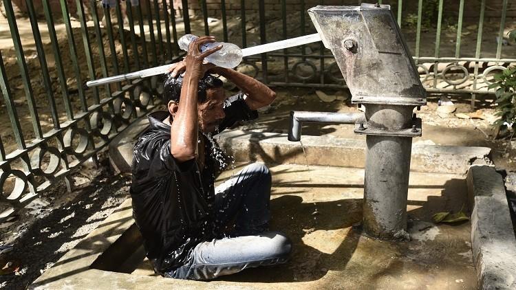 موجة حر شديد تودي بحياة 167 شخصا في الهند