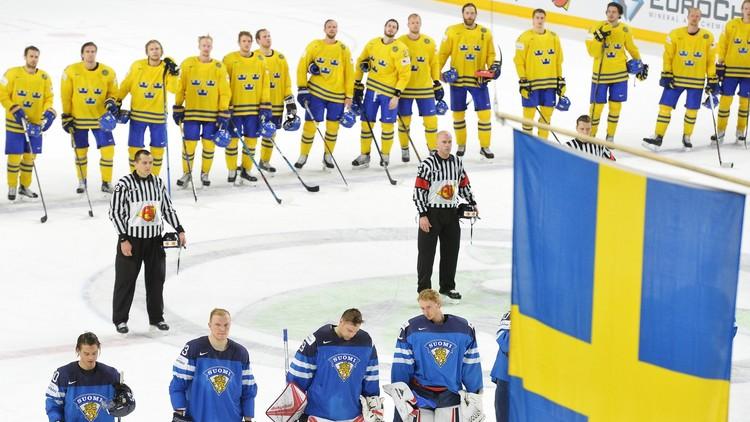 السويد تواجه كندا في نهائي مونديال الهوكي