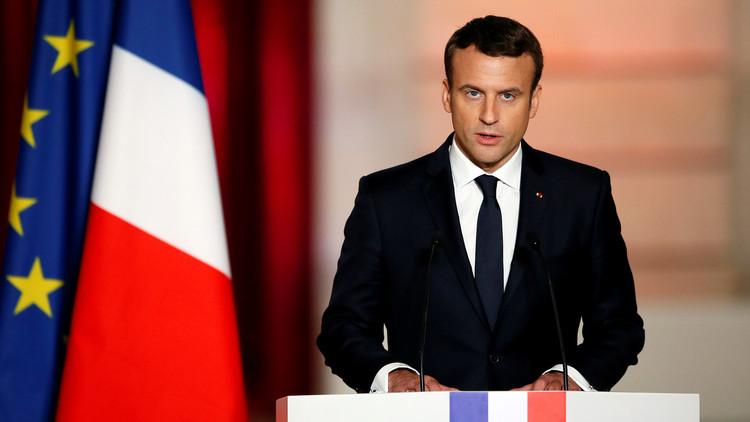ماكرون يهنئ روحاني ويؤكد حرص فرنسا على تطبيق الاتفاق النووي