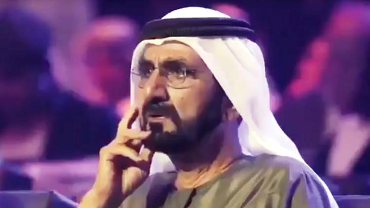 بالفيديو.. شاهد اللحظة التي أبكت الشيخ محمد بن راشد أمام عدسات الكاميرات