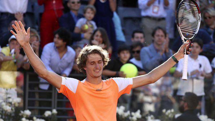 زفيريف يحرز لقب بطولة روما المفتوحة