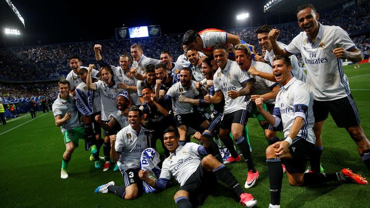 ريال مدريد بطلا للدوري الإسباني لكرة القدم للمرة الـ 33