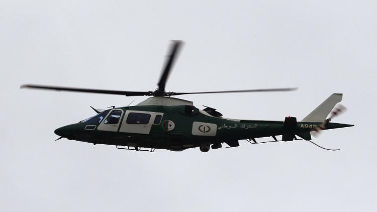 مصرع ثلاثة جنود جزائريين بتحطم مروحية عسكرية