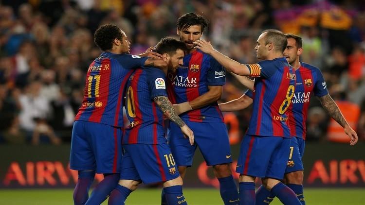 ريال مدريد يحتفل وميسي يبدع! (فيديو)