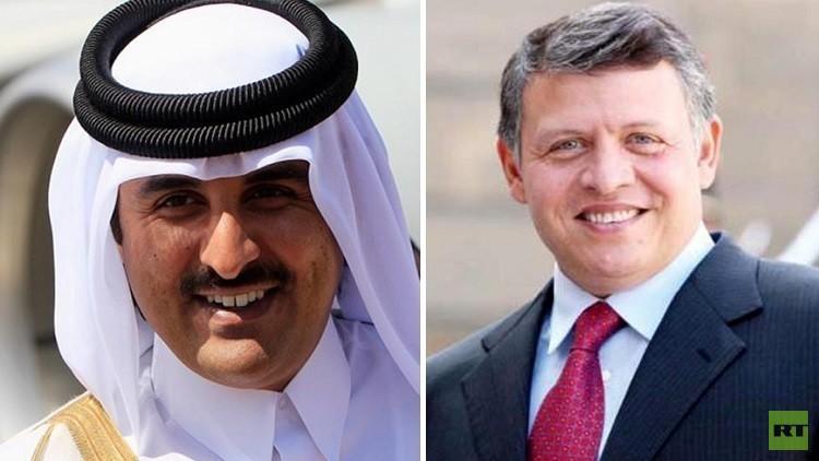 أمير قطر يهاتف العاهل الأردني رغم فتور العلاقة بين البلدين