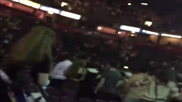 فيديو لحظة تفجير