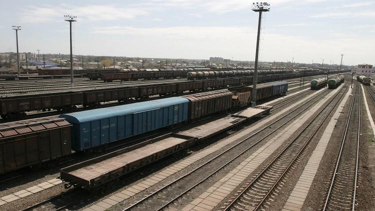 أول قطار بضائع يربط الصين ببيلاروس