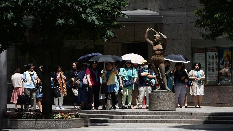 المئات في المشافي بسبب موجة حر تضرب اليابان