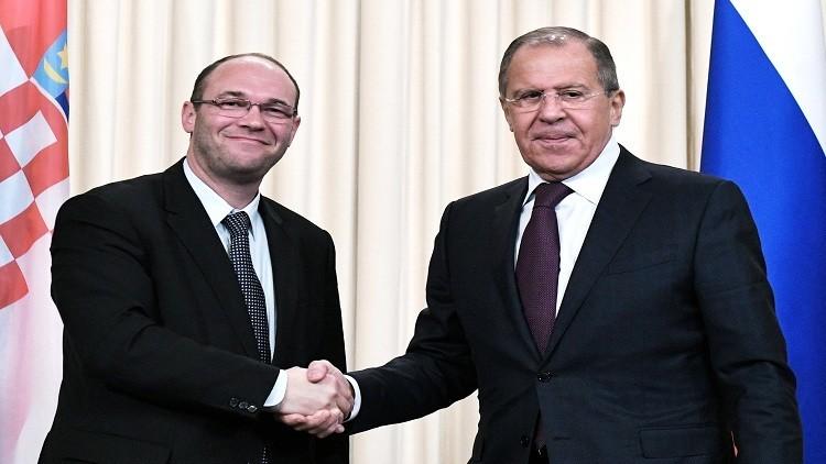 وزير خارجية كرواتيا يدعو لحوار منفتح مع روسيا