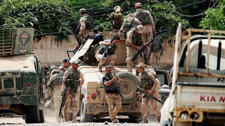 الجيش العراقي ينصب جسرا عائما جديدا في الموصل وتستعد لهجوم أخير على